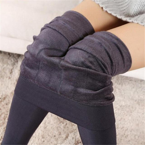 Image of Winter Warm Elastic Leggings - Cyber Zone Online