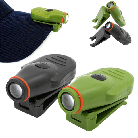 Image of New LED Outdoor Hat Clip Light