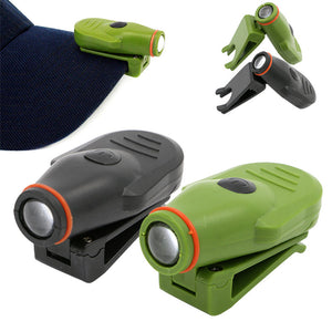 New LED Outdoor Hat Clip Light