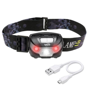 LED Rechargeable Running Headlamps