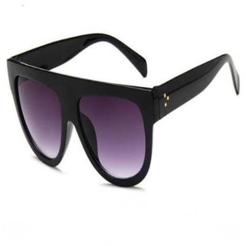 Image of Flat Top Big Mirror Sun Glasses - Cyber Zone Online