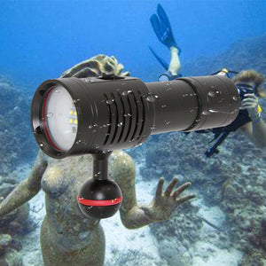 3000LM LED Diving Waterproof Light Torch