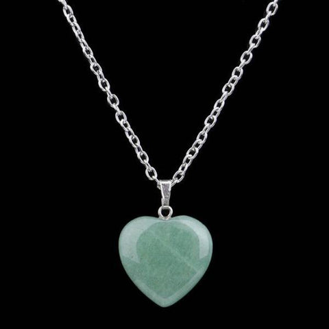 Heart Shape Natural Real Gem Stone - Cyber Zone Online