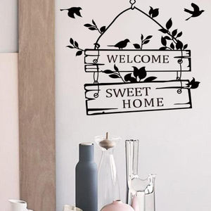 Home Sweet Home Door Sign Decals - Cyber Zone Online