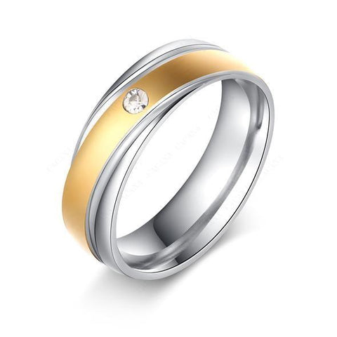 Titanium Stainless Steel Rings - Cyber Zone Online