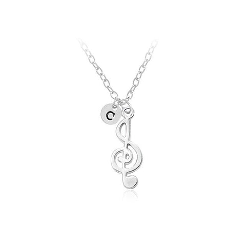 Image of Simple Charm Pendant Necklace Alloy Chain - Cyber Zone Online