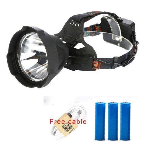 Image of USB Rechargeable LED Headlamp