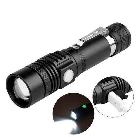 Image of Handy Powerful Alloy Flashlight