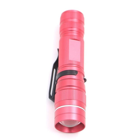 Image of Green/White Light Purple UV LED Torch