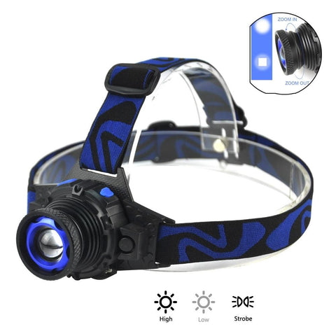 1000 Lumens Rechargeable Head Torch