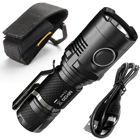 1000 Lumen LED Rechargeable Flashlight