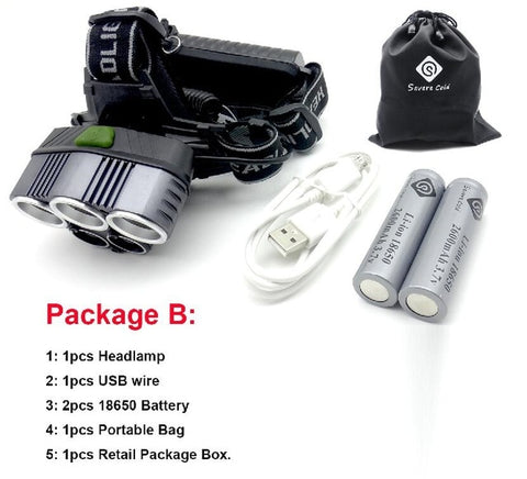 Image of 15000 Lumens LED Head Lamp