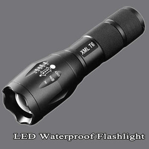 8200 Lumen Zoomable LED Torch