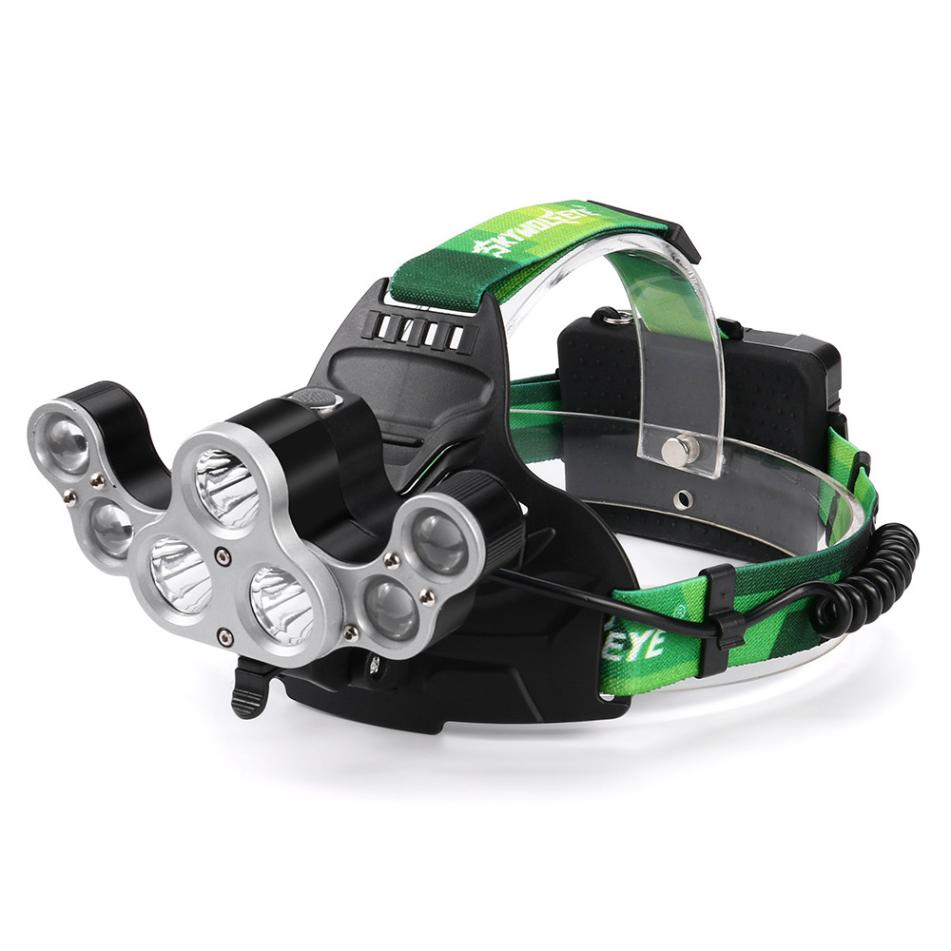 7 LED Rechargeable Headlight