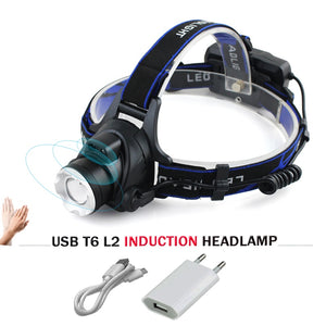 Sensor Induction LED Headlamp