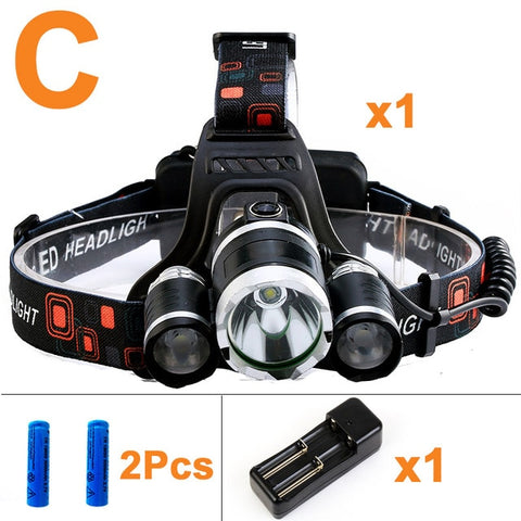 Image of LED Headlamp 13000LM
