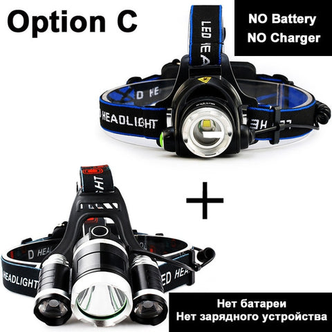 Image of Portable LED Headlamp
