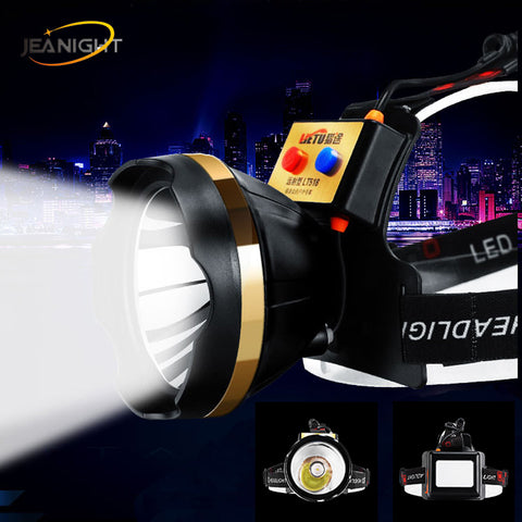 Image of USB LED Super Bright Head Light 1500m Range