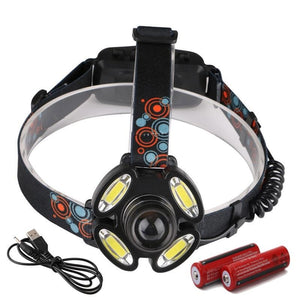 Zoomable Hunting Headlight