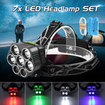LED Headlamp 60000LM