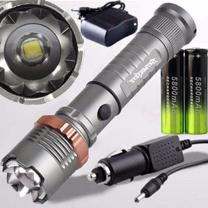 Tactical Police 4000LM  Flashlight