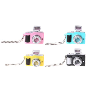 Creative Camera Toy Led Keychain With Sound and LED Flashlight