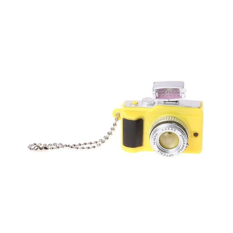 Image of Creative Camera Toy Led Keychain With Sound and LED Flashlight