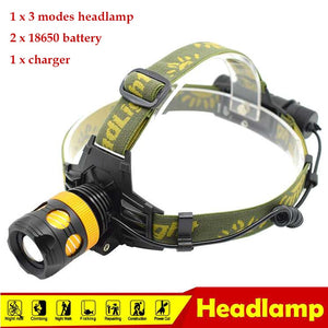 2000Lumen LED Headlamp