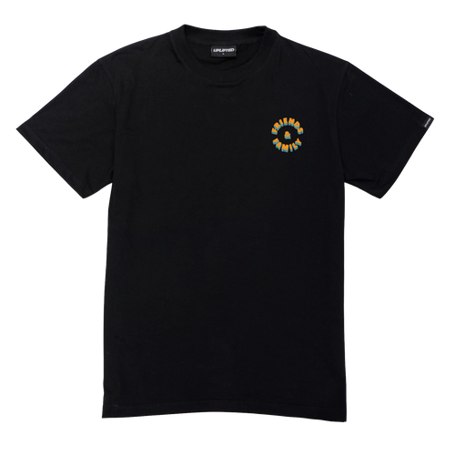 FRIENDS AND FAMILY TEE BLK