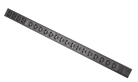Basic PDU - 16xC13 + 4xC19 Outlets with 20A GPO captive (flat pins) inlet