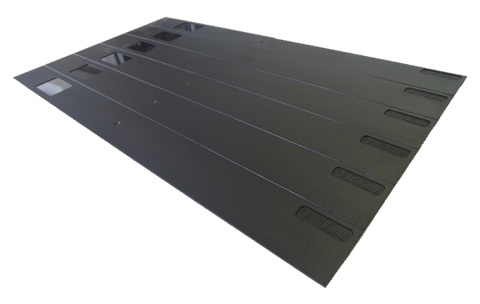 "EZIBLANK - 19"" Blanking Panel - Box of 10 x 6RU sheets"
