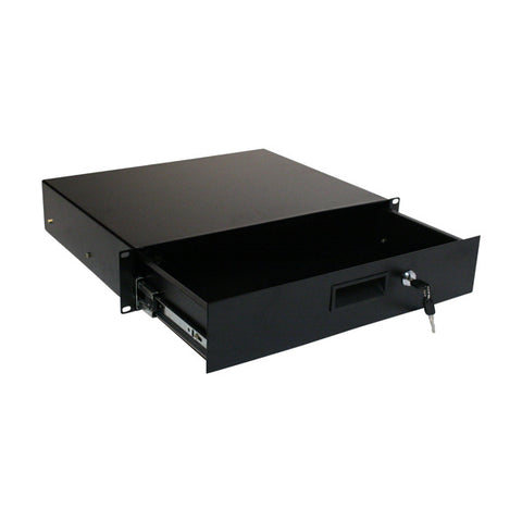 "2RU, 19"" Steel Drawer, 350mm Deep"