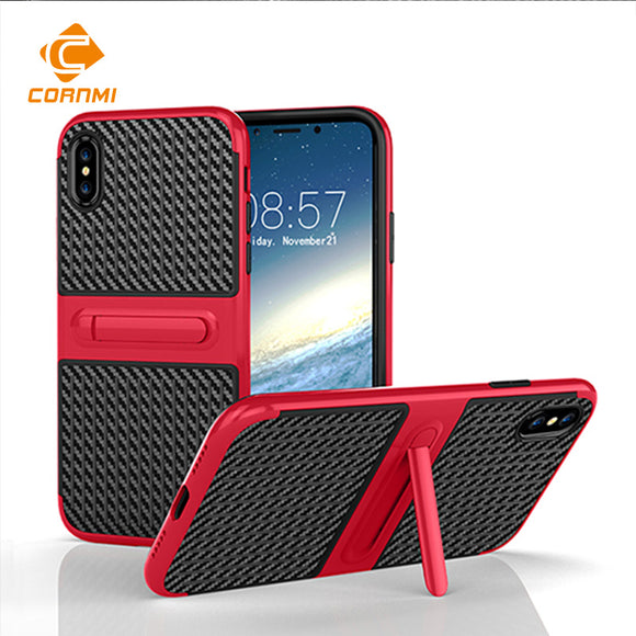 Shockproof Kickstand Phone Cover For iPhone X