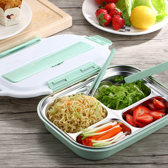 Microwavable Lunch Box Stainless Steel