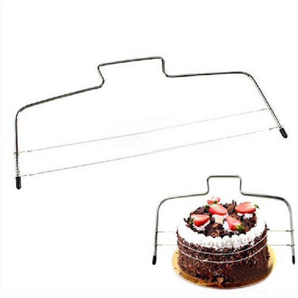Stainless Steel Chord Style Cake Bread Slicer Cutter