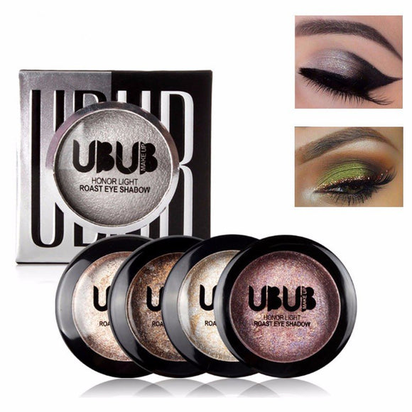 UBUB 12 Colors Baked Matte Eyeshadow Palette Glitter Shimmer Eye Shadow Makeup