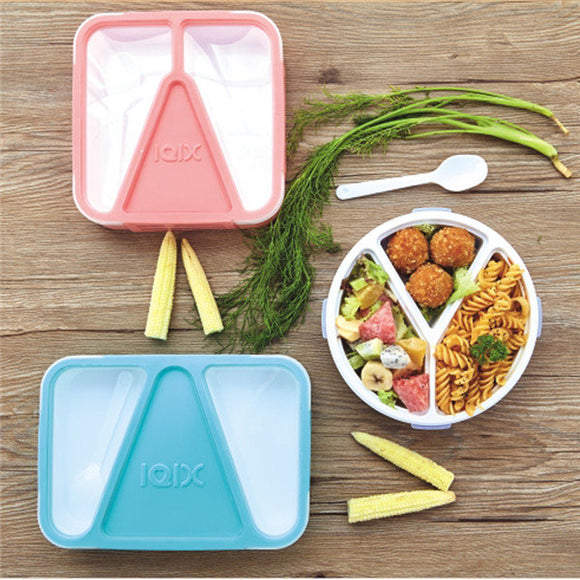 Microwave Oven Lunch Box with Spoon