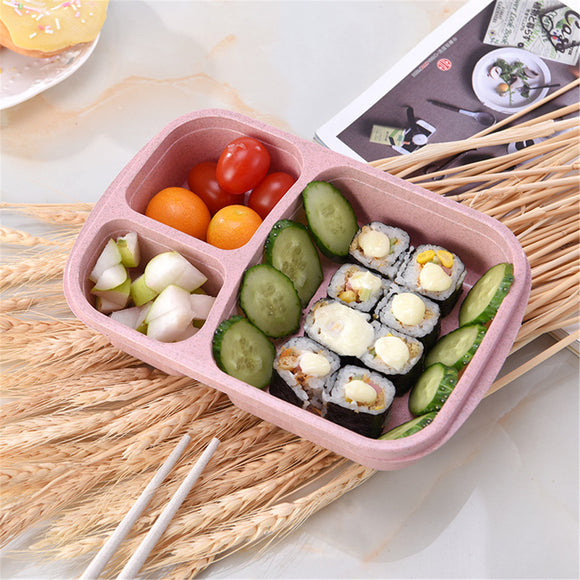 Wheat Microwave Bento Lunch Box