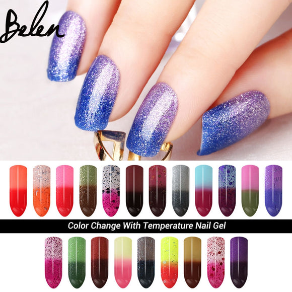 Belen 7ml Chameleon Temperature Change Color UV Gel Polish - TriggerKart