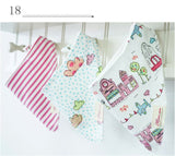 3 Pc's  cotton baby bibs  waterproof fashion girls boys dribble bibs - TriggerKart