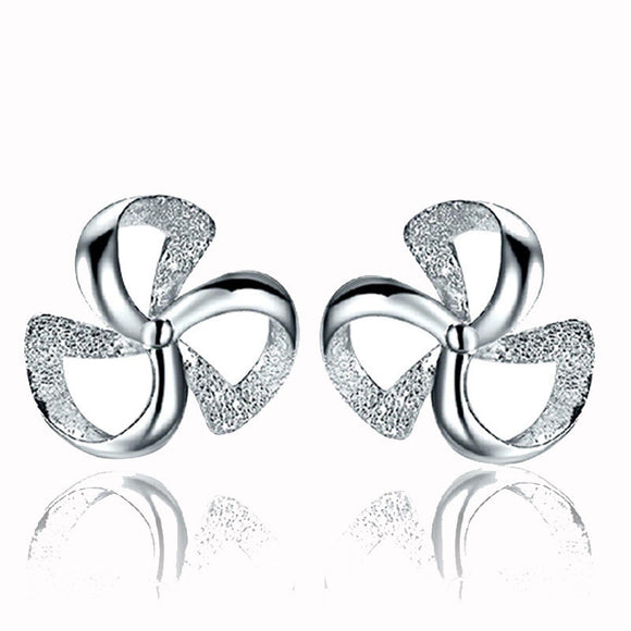 Women's Clover Of Design Of Stud Earrings