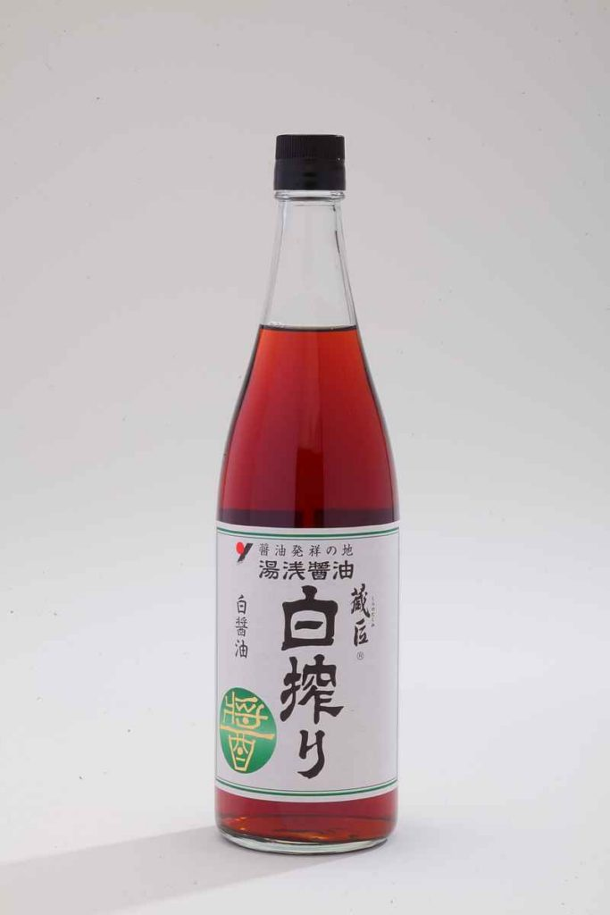 Shiro Shibori ― Light Color Soy Sauce  720ml
