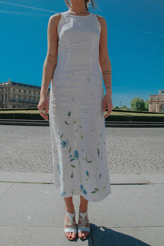 PARIS - Linen Long Dress