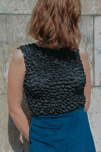 PARIS - Texturized top