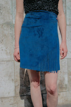 PARIS - Fringed wrap skirt
