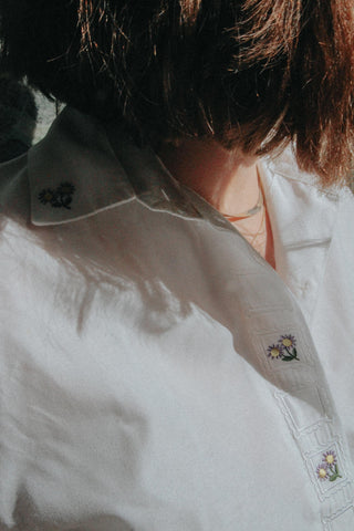PARIS - Embroidered Shirt