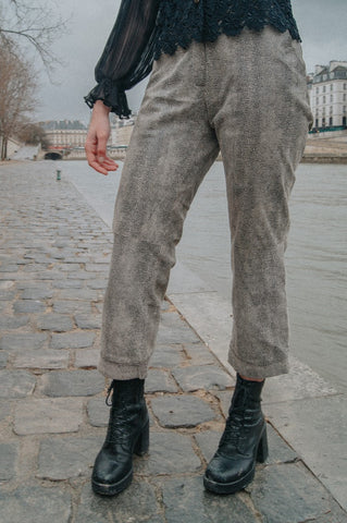 PARIS - Leather Pant
