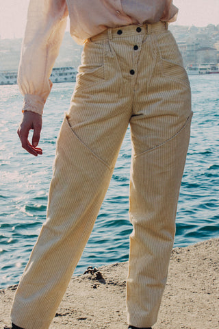 Istanbul l Corduroy Trousers