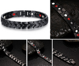Magnetic Therapy Bracelet, 316L  Stainless Steel Golf Ion