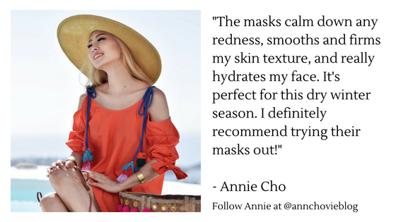 Annie Cho - Best Face Mask Review